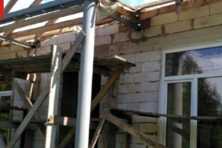 У волинському селі недоброчесний підрядник брався будувати амбулаторію