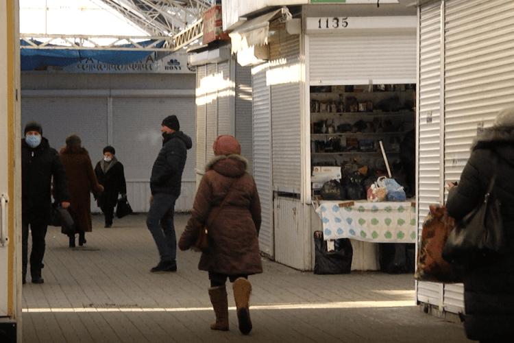 Як працює луцький Завокзальний ринок під час локдауну