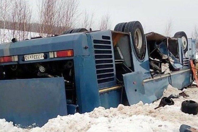 В аварії під Калугою загинули семеро людей, четверо з них - діти