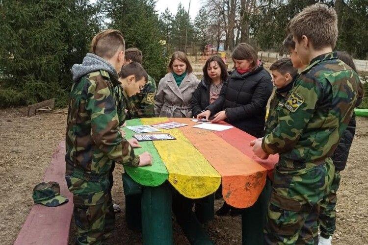 Юні лісівники пізнавально розважилися в «зеленому класі» (Фото)