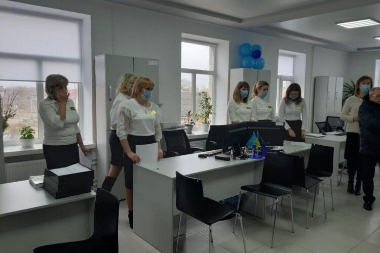 У Горохівській громаді відкрили Центр надання адміністративних послуг