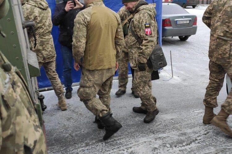 Бойовики звільнили з полону військового 14-ї «волинської» бригади