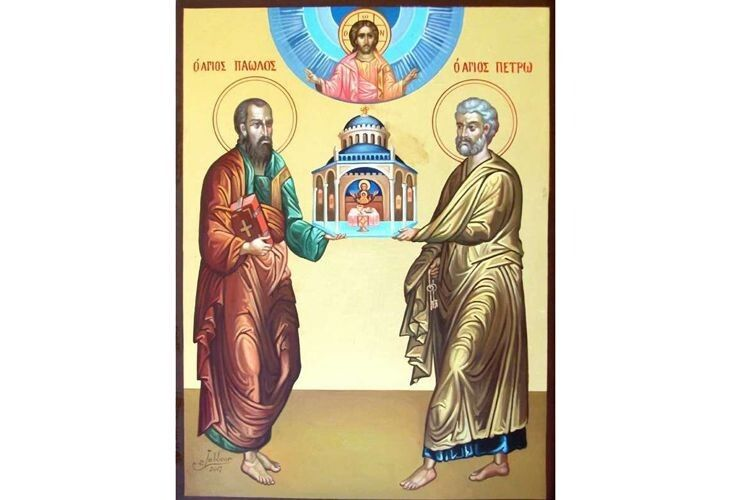 Сьогодні вшановуємо пам'ять апостолів Петра іПавла
