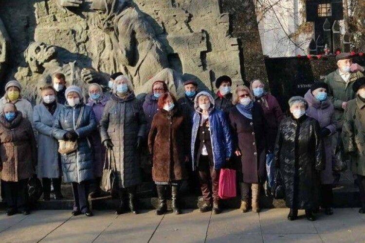 На Волинь приїхали в'язні нацистських концтаборів з різних областей країни