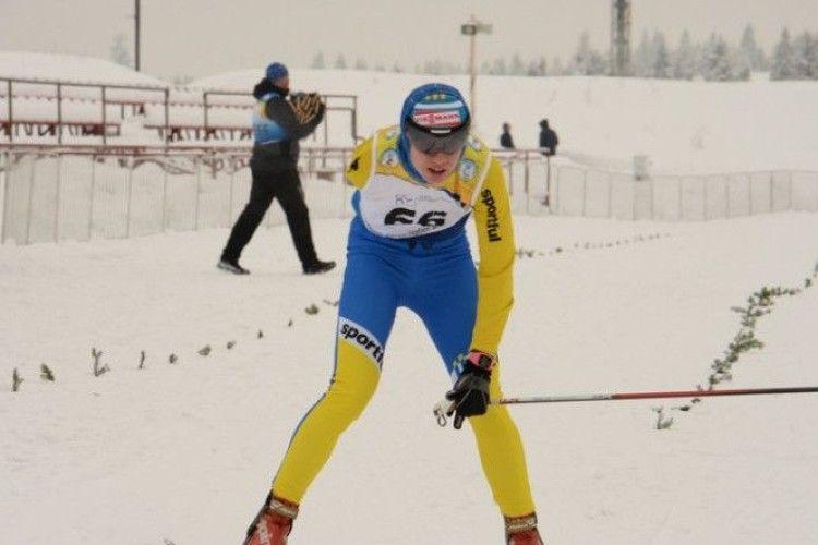Волинянка виборола «золото» на Кубку світу з лижних перегонів