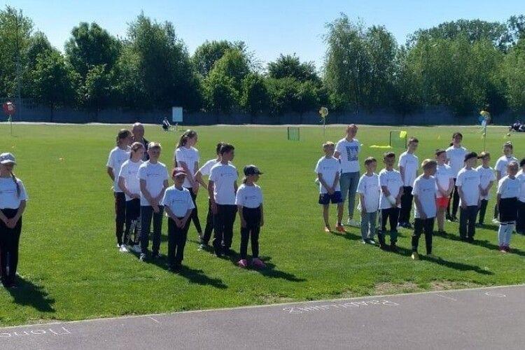 На Ковельщині відбувся фестиваль «Відкриті уроки футболу»