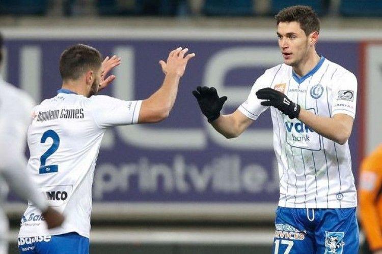 Роман Яремчук вшосте забив за «Гент» у чемпіонаті Бельгії