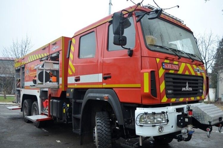 На Волині рятувальники отримали нові автомобілі (Фото)