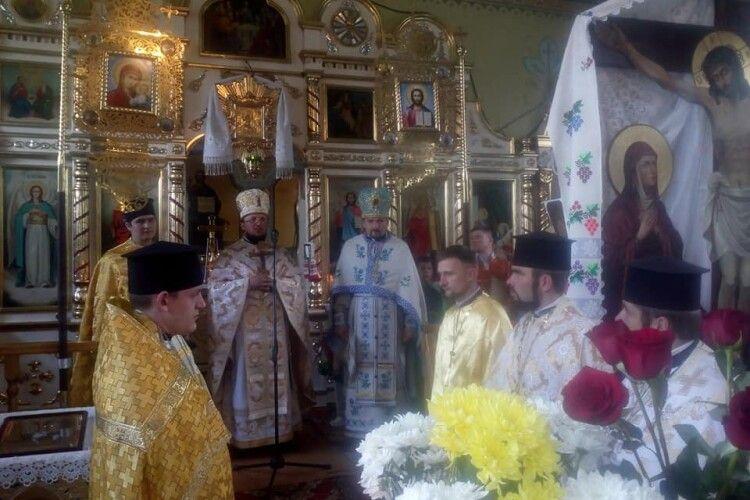 На Маневиччині відзначили ювілей церкви