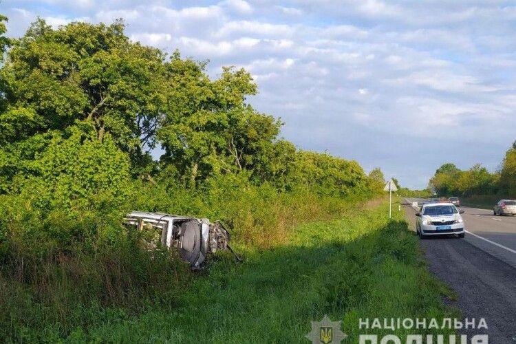 Поблизу Луцька загинув водій Renault Scenic