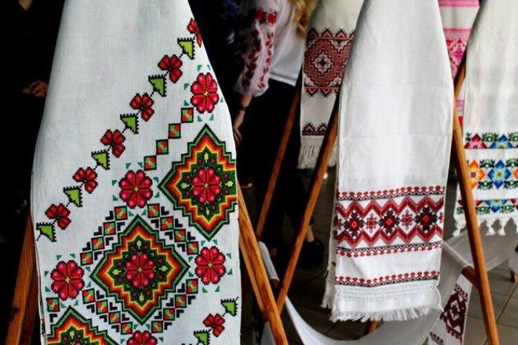 Завітайте: сьогодні у Луцьку відбудеться фестиваль вишитих рушників