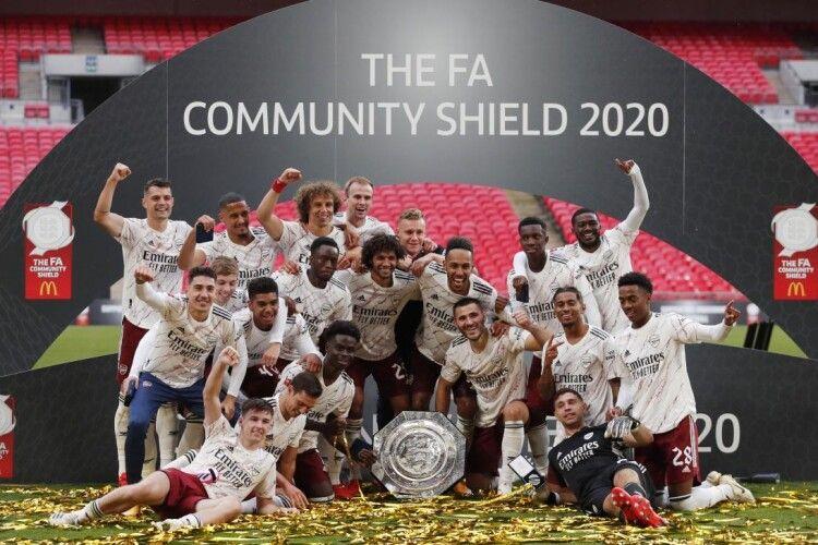 «Арсенал» здолав «Ліверпуль» у серії післяматчевих пенальті і здобув Суперкубок Англії (Відео)