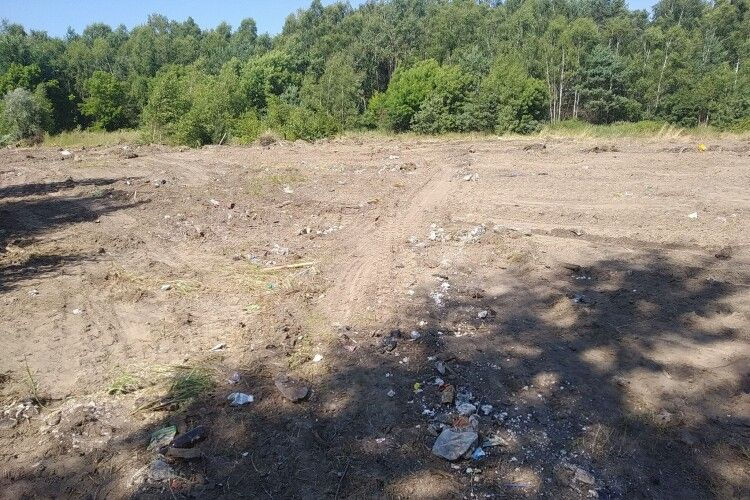 У громаді на Волині розчистили сміттєзвалище (Фото)