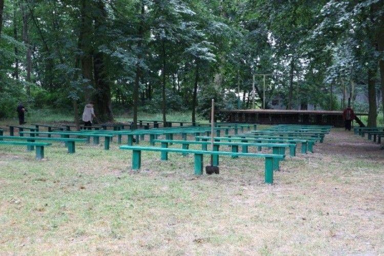 Старовинний Любешівський парк на Волині впорядкують