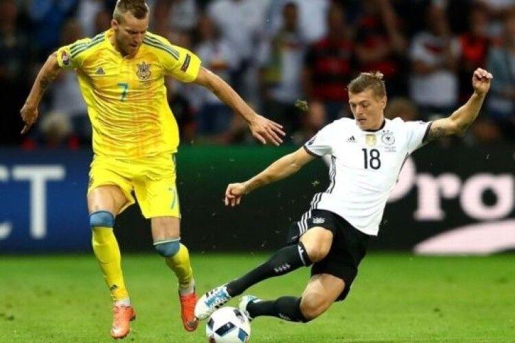 Букмекери дали прогноз на матч Ліги націй Німеччина – Україна