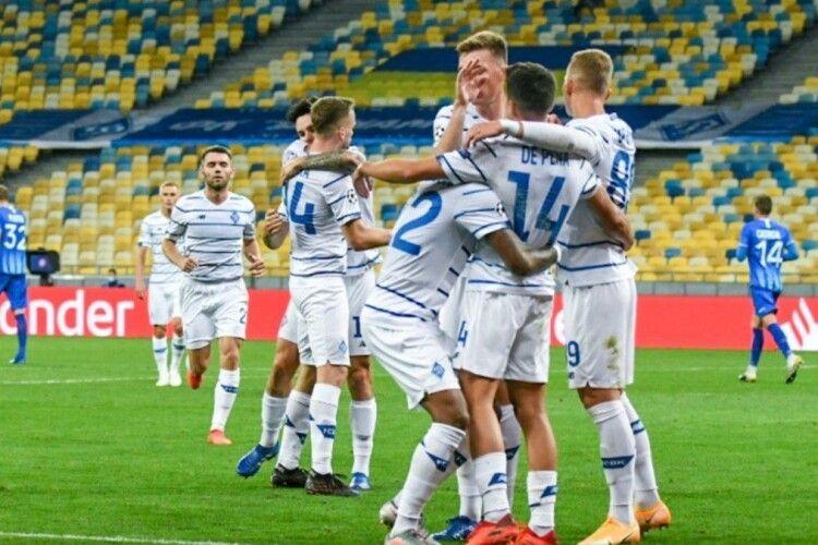 Динамо забезпечило собі участь у Лізі чемпіонів 2021/22
