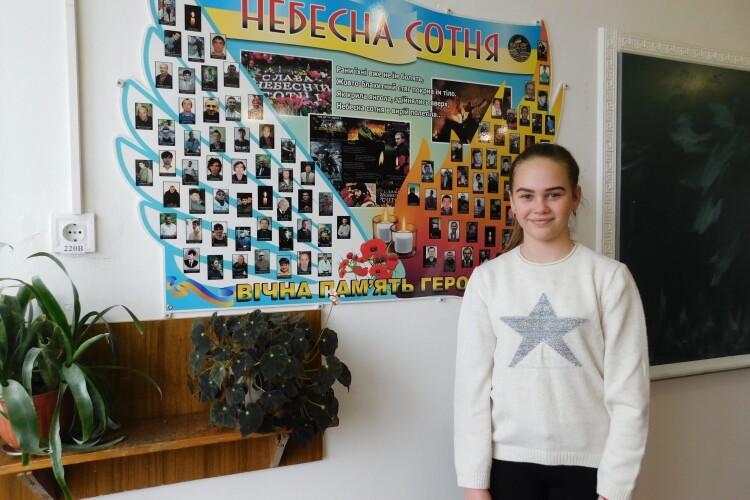 Школярка з Горохівщини їздить до Луцька, щоб займатися бальними танцями