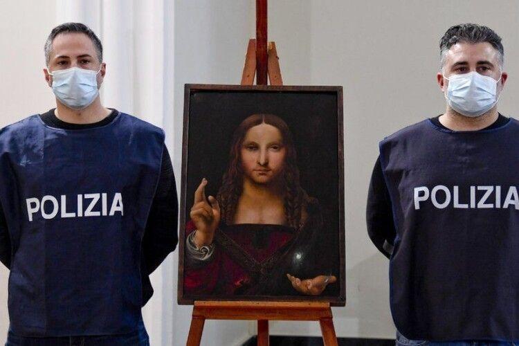 В Італії знайшли 500-річну копію «Спасителя світу», написану одним із учнів Леонардо да Вінчі