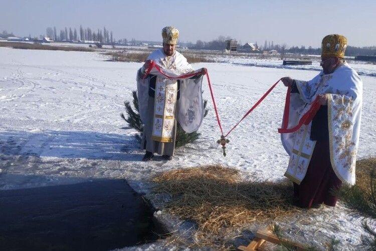 У волинському селі на озері вже п'ятнадцятий рік проводять чин Великого водосвяття