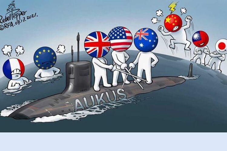 Може, підемо не в ЄС, а в AUKUS?
