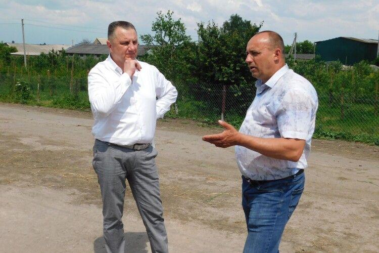 Волинський фермер у «Степу» дбає про людей