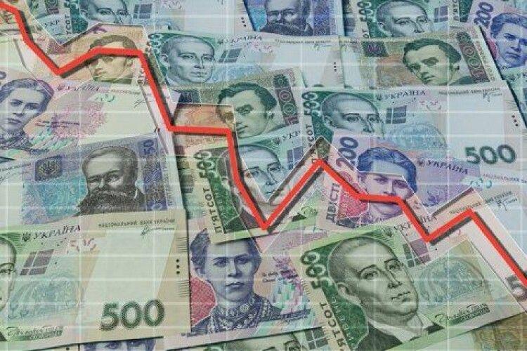 Надходження до бюджету в січні виявилися на чверть нижчими від запланованих