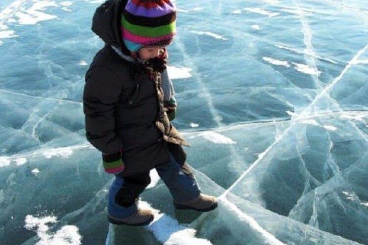 На Рівненщині під кригу провалився дев'ятирічний хлопчик