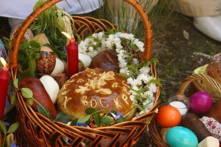 У Нововолинську влада оприлюднила графік освячення пасок, хоча радять святити вдома власноруч
