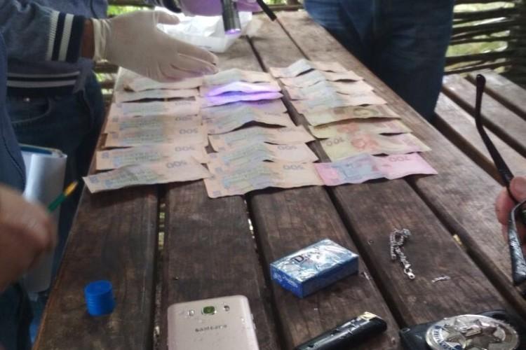 На Волині поліцейського викрито на хабарі у 10 тисяч гривень