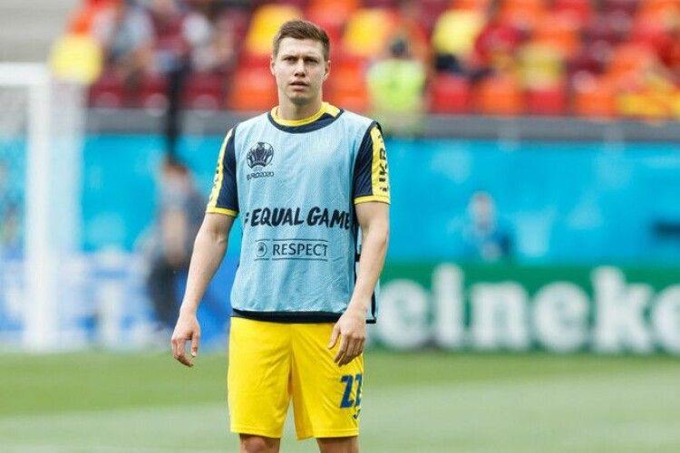 Футбол: Наполі цікавить Матвієнко