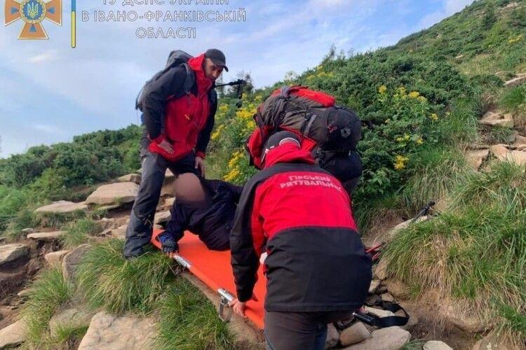 Двійко киян так зраділи з приводу підкорення Говерли, що загубили один одного під час спуску з гори (Фото)