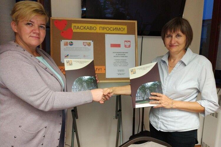 Ліцеї з Волині  та Польщі співпрацюватимуть в сфері навчання та виховання