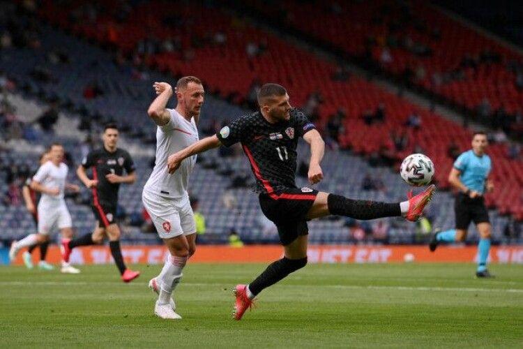 У Глазго – без переможця. Збірні Хорватії та Чехії зіграли внічию