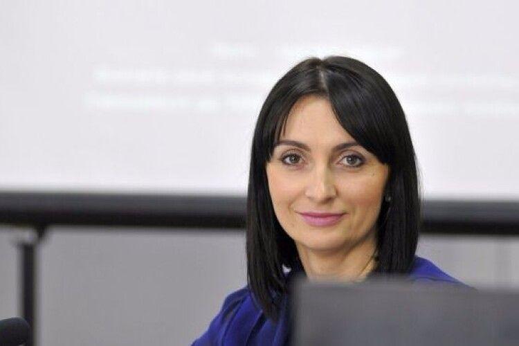 Депутат Луцької міськради від «Самопомочі» Юлія Вусенко йде на вибори з «Європейською Солідарністю»