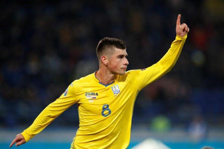 Вже відомий стартовий склад збірної України на поєдинок зі збірною Фінляндії