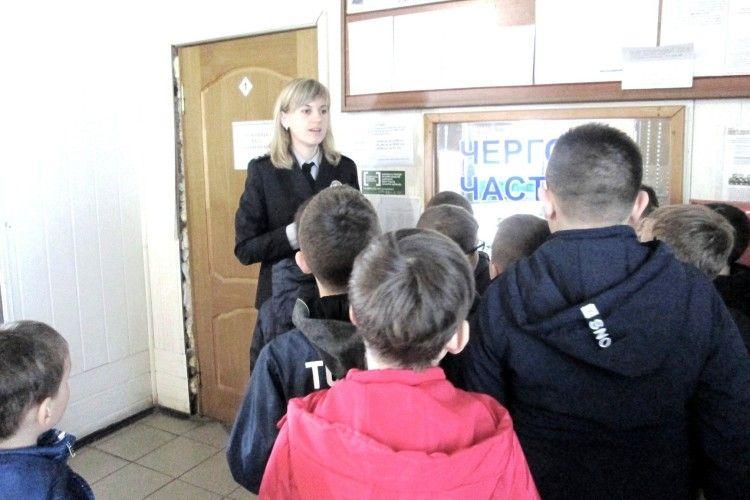 Поліція показала школярам усі свої секрети (Фото)