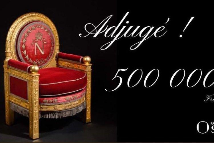 Трон Наполеона продали за півмільярда євро
