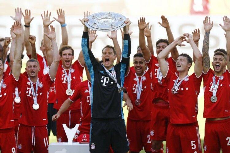 Підсумки Бундесліги: Німеччину в Лізі чемпіонів представлятимуть «Баварія», дві «Боруссії» та «РБ Лейпциг»