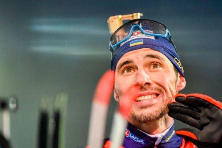 Артем Прима фінішував восьмим у гонці переслідування на ЧС з біатлону в Поклюці