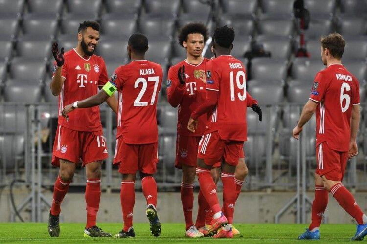 «Баварія» встановила рекорд Ліги чемпіонів: мюнхенський клуб 19-й раз вийшов у чвертьфінал турніру