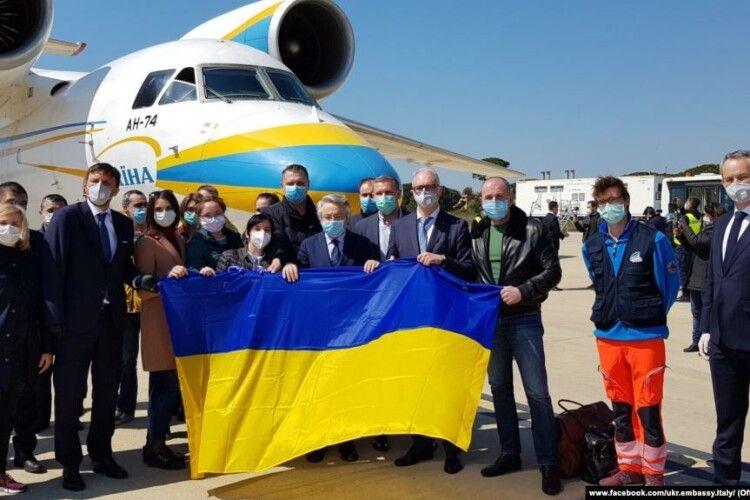 Італія попросила продовжити відрядження українських медпрацівників