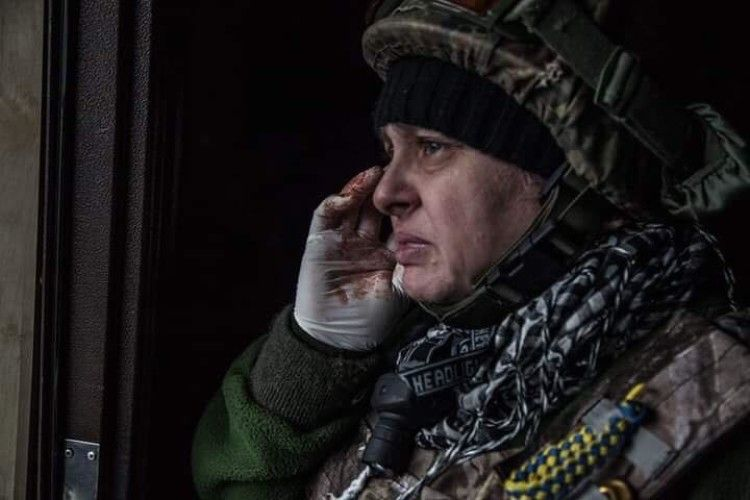 Позивний «Мама» з Рівненщини пішла на фронт разом із чоловіком та сином
