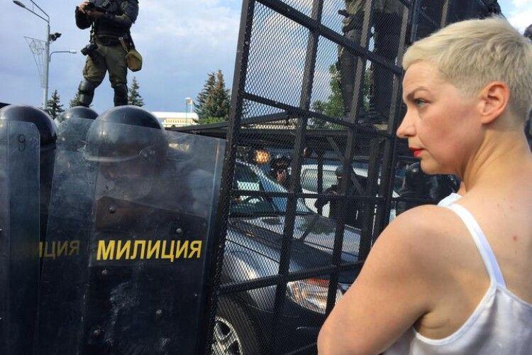 Білоруська опозиціонерка Колеснікова знайшлася. Вона у мінському СІЗО