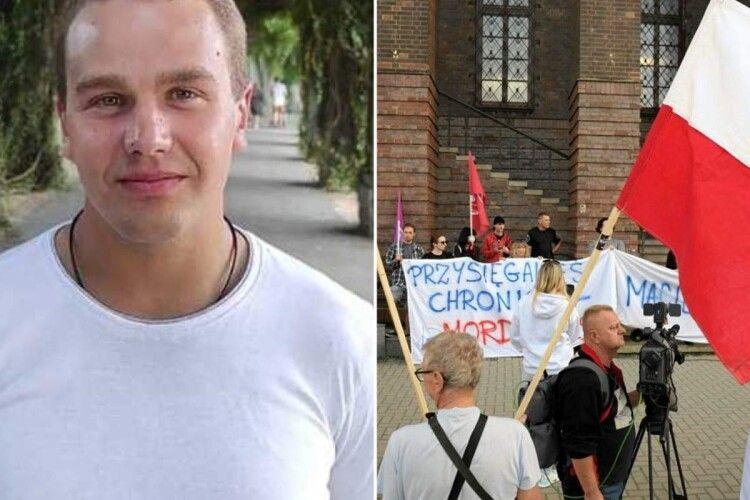 У Польщі протестують українські заробітчани: вони вимагають чесного розслідування вбивства Дмитра Никифоренка
