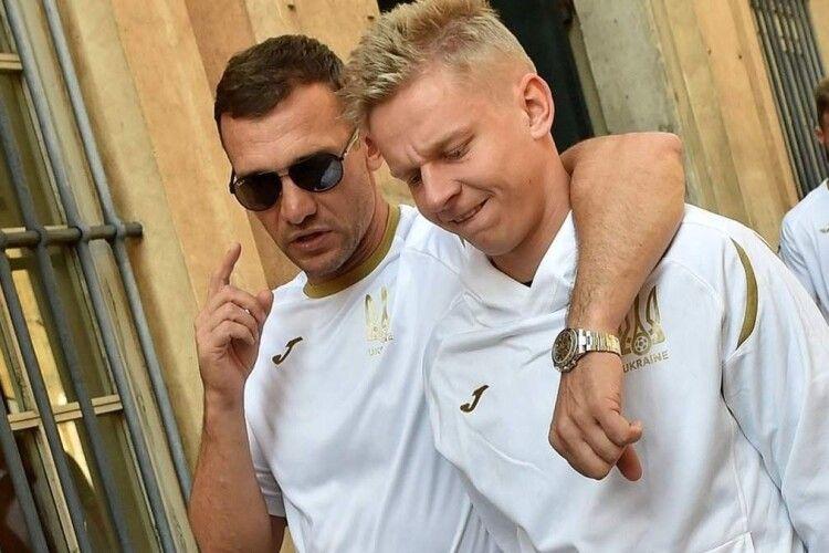 Через фінал Ліги чемпіонів Зінченко застримається до збірної