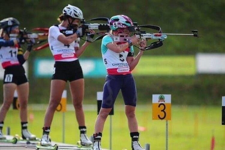 У Боратині тренуються біатлоністи