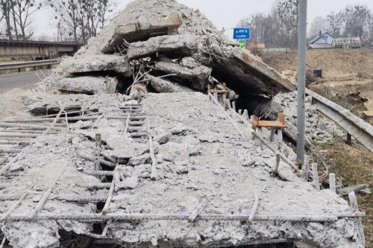 Обвал мосту на Волині: постраждалі отримають компенсацію