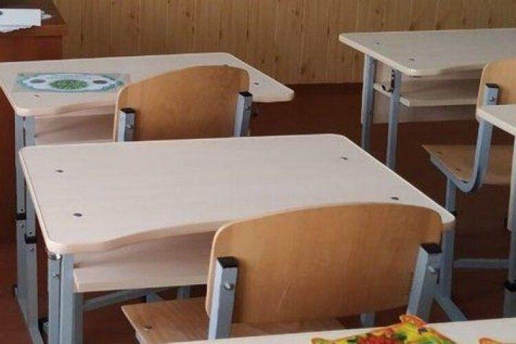112 шкіл на Волині перебувають на дистанційному навчанні