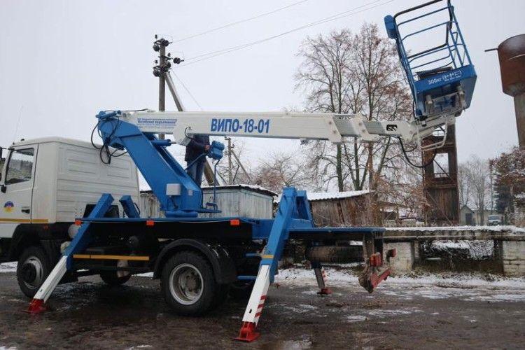 В Любешівській ОТГ вже придбано 5 одиниць спецтехніки