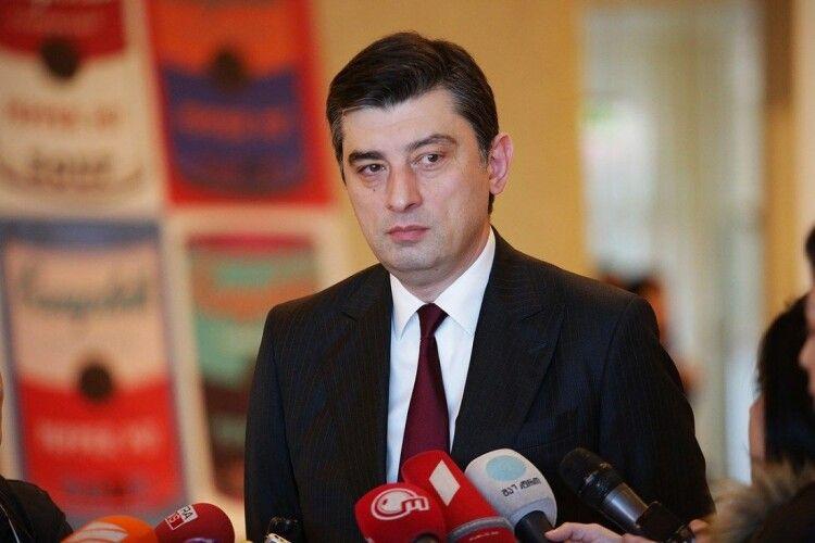 Парламент Грузії затвердив склад нового уряду країни на чолі з Георгієм Гахарією